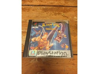 Disneys Actionspel Med Herkules - Playstation - PSone - Raritet!
