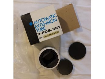 Kennex Automatic Extension Tube Set Mellanringar till Canon F1.FTb & FT