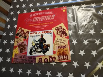 The Crystals - Sing their greatest hits  LP!