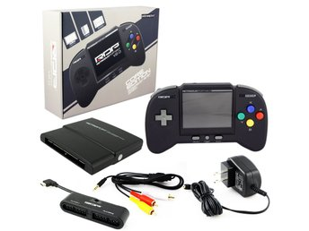 RetroDuo Portable Handheld Console V2.0 Black Retro-Bit