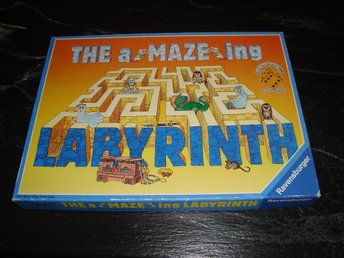 THE A-MAZE-ING LABYRINTH - brädspel - RAVENSBURGER