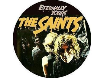 SAINTS - 4,5 cm - Badge / Pin / Knapp -(Punk, Ramones, 1977, Fun Things,)