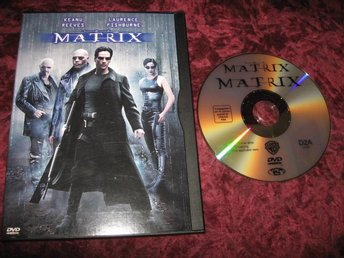 THE MATRIX (KEANU REEVES,LAURENCE FISHBURNE) DVD