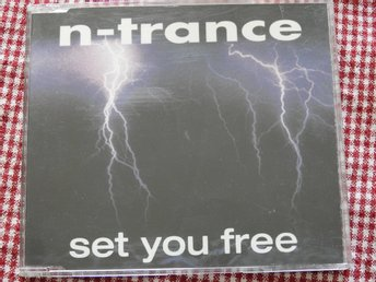 N-Trance - Set You Free CD Single 1995