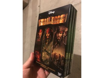 Pirates of the Caribbean - DVD box