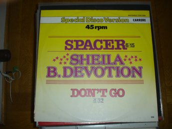 """12"" - Sheila B Devotion - Spacer - Special Disco Vesrion"