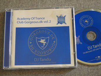Academy of Trance - Club Gorgeous.dk Vol. 2 CD