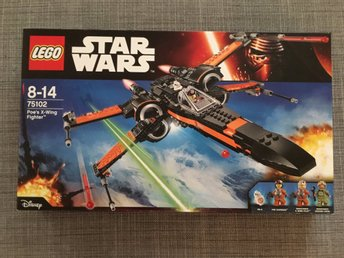 Lego 75102 Poes X-Wing Fighter oöppnad