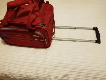 Holdall Travel Trolley Bagage Med Hjul