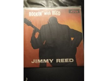 Jimmy Reed Rockin with Reed LP röd USA Import År1959, Musik, Gitarr, Rock