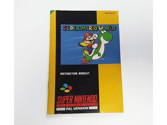 Super Mario World Manual - SNES