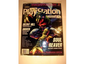 PLAYSTATION 15 NY CD  3 1999  SOUL REAVER I ORIGINALPLAST