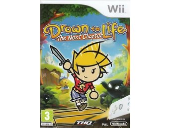 Drawn to Life: The Next Chapter Nintendo WII NY!