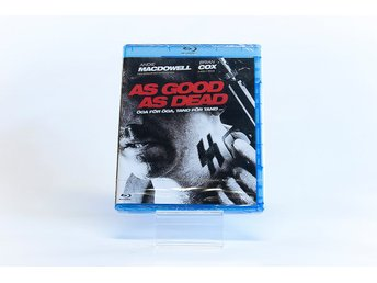 As Good As Dead - BluRay - NY! - Fri Frakt