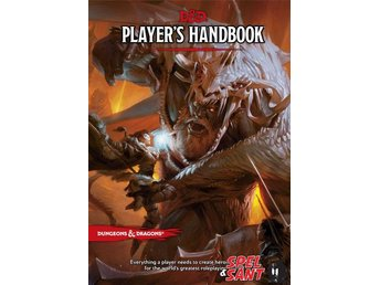 Dungeons & Dragons Players Handbook 5th Edition (Inbunden)