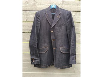 Nudie salvage denim blazer