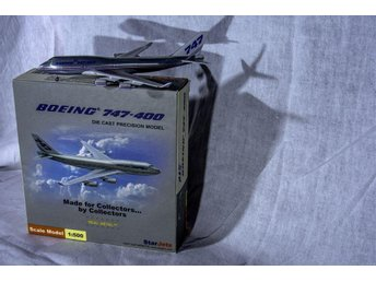 Boeing 747-400 HERPA Wings 1:500 Mint in Box. - Gävle - Boeing 747-400 HERPA Wings 1:500 Mint in Box. - Gävle