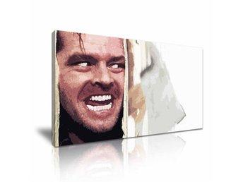 THE SHINING - Jack Nicholson - CANVASTAVLA - Färdig för väggen (KUBRICK) - Norrsundet - THE SHINING - Jack Nicholson - CANVASTAVLA - Färdig för väggen (KUBRICK) - Norrsundet