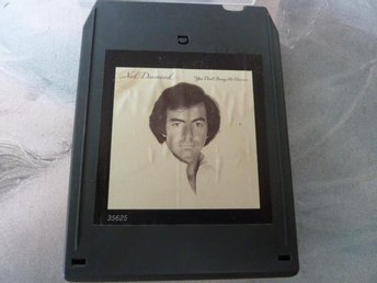 NEIL DIAMOND, YOU DON'T BRING ME FLOWERS,  KASSETTBAND, 8-TRACK
