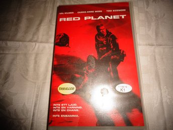 $$$  VHS  RED  PLANET  VHS  $$$