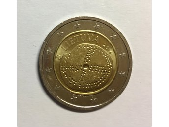 2 euro coin - The baltic culture - Lithuania, 2016