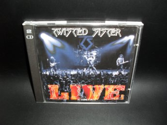 TWISTED SISTER - LIVE AT HAMMERSMITH ( 2XCD ALBUM )