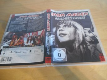 DVD - Iron Maiden - ROCK CASE HISTORY -  2 DISC