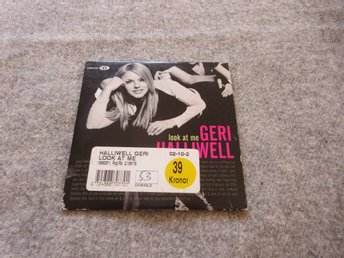 GERI HALLIWELL look at me. 2track. SPICE GIRLS