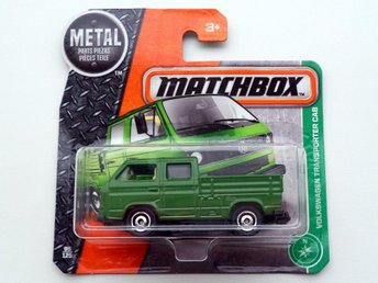 Matchbox - Volkswagen VW Transporter Double Cab - tom flak