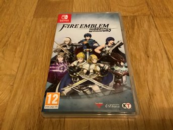 Fire Emblem Warriors till Nintendo Switch.