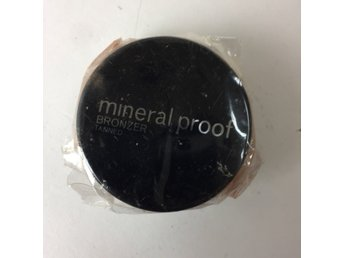 Bronzer, Mineral proof: tanned