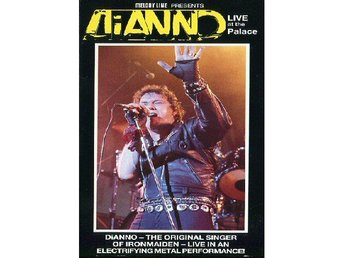 Officiellt original Dianno (Iron Maiden) Sweden exclusive