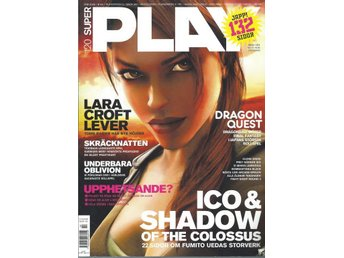 SUPER PLAY  NR 120  - LARA CROFT LEVER.....