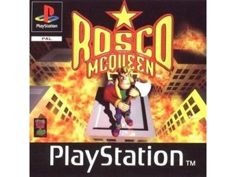 Rosco Mcqueen - Playstation - PSone - Raritet!