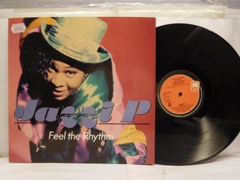 JAZZI P - FEEL THE RHYTHM - MAXI