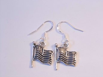 USA flagga örhängen / USA flag earrings