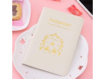 Passfodral passportcover vit ny