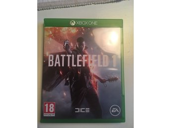 XBox One spel. Battlefield 1.