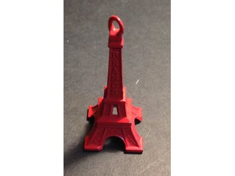 Eiffel torn 5cm röd antique Paris France