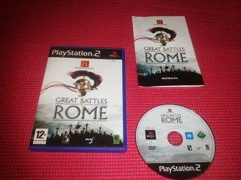 The History Channel : Great Battles of Rome (PS2) Komplett