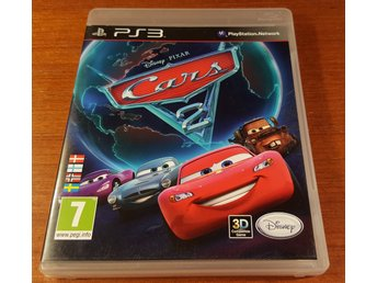 Cars 2 - Komplett - PS3 / Playstation 3 - Bilar 2