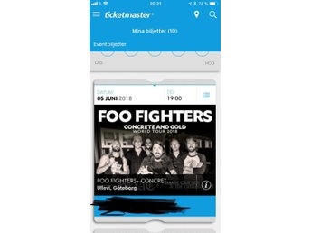 Foo Fighters 5 juni