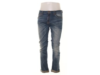 Nudie Jeans, Jeans, Tube Tom, Strl: 33/34, Blå