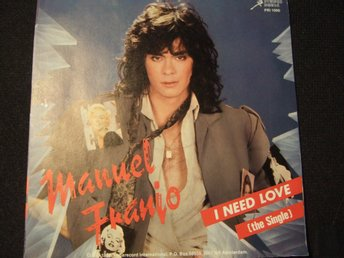 45 - MANUEL FRANJO. I need Love/We are the young. 1986