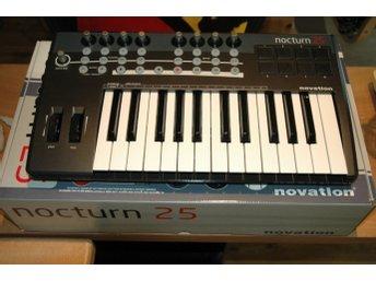 Novation Nocturn 25 Midi Keyboard