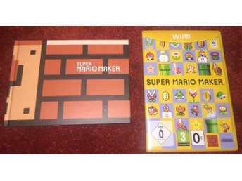Super Mario Maker with Artbook (Saknar papplåda) - WiiU