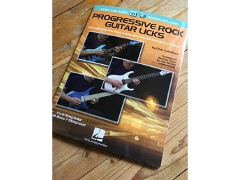 Progressive Rock Guitar Licks (gitarrskola, Hal Leonard, elgitarr)
