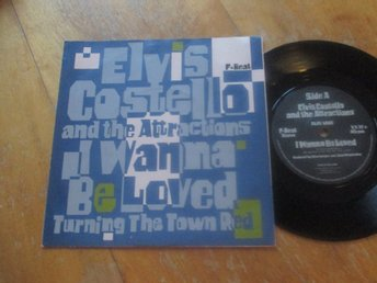 "Elvis Costello and The Attractions ""I Wanna Be Loved/Turning The Town Red"""
