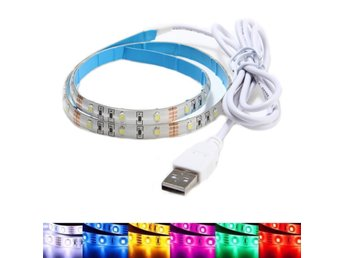50CM Waterproof USB SMD3528 TV Background Computer LED St...