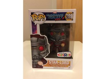Funko Pop Guardians of the Galaxy Vol 2 Exclusive Star Lord med mask figur Marve